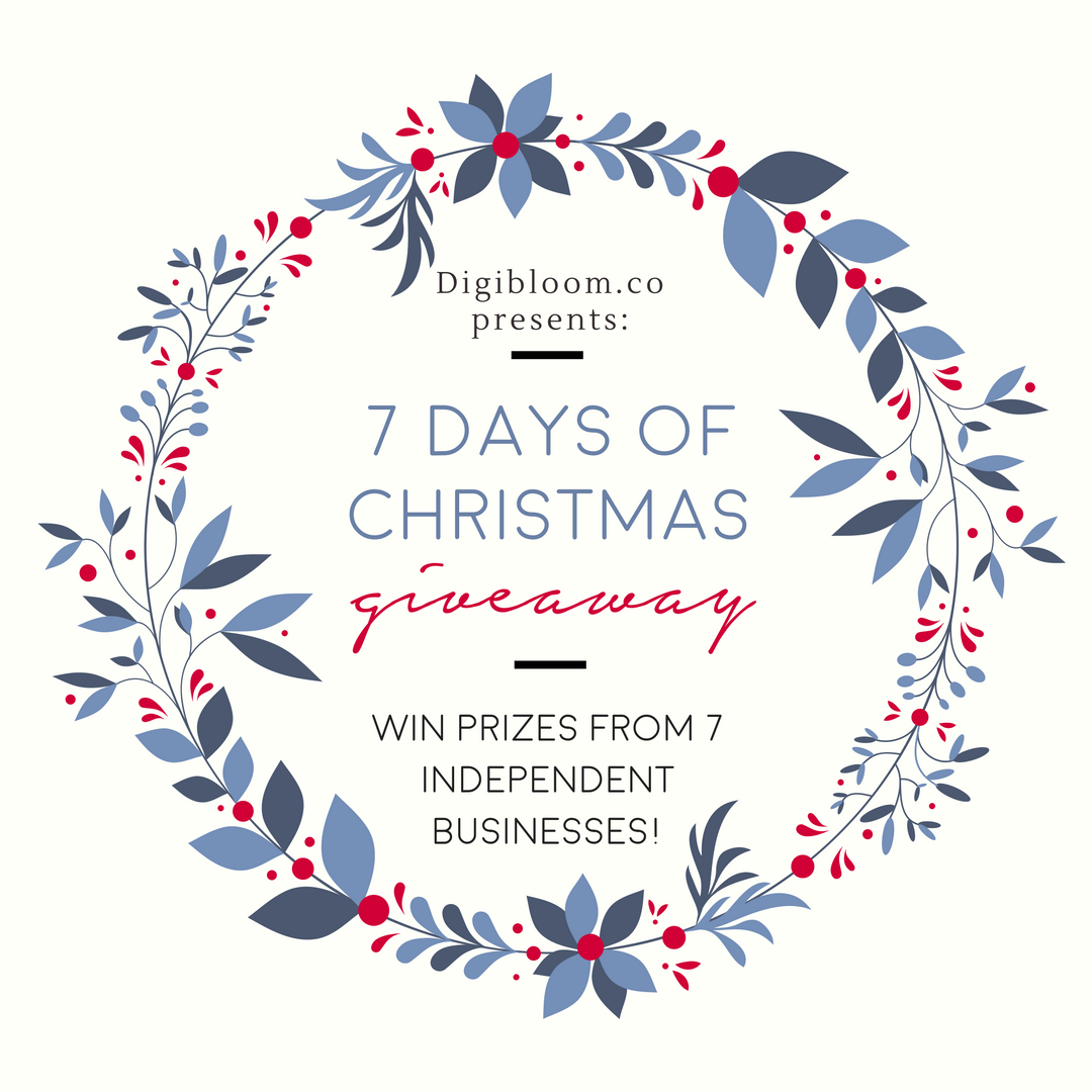 Digibloom Christmas advent competition