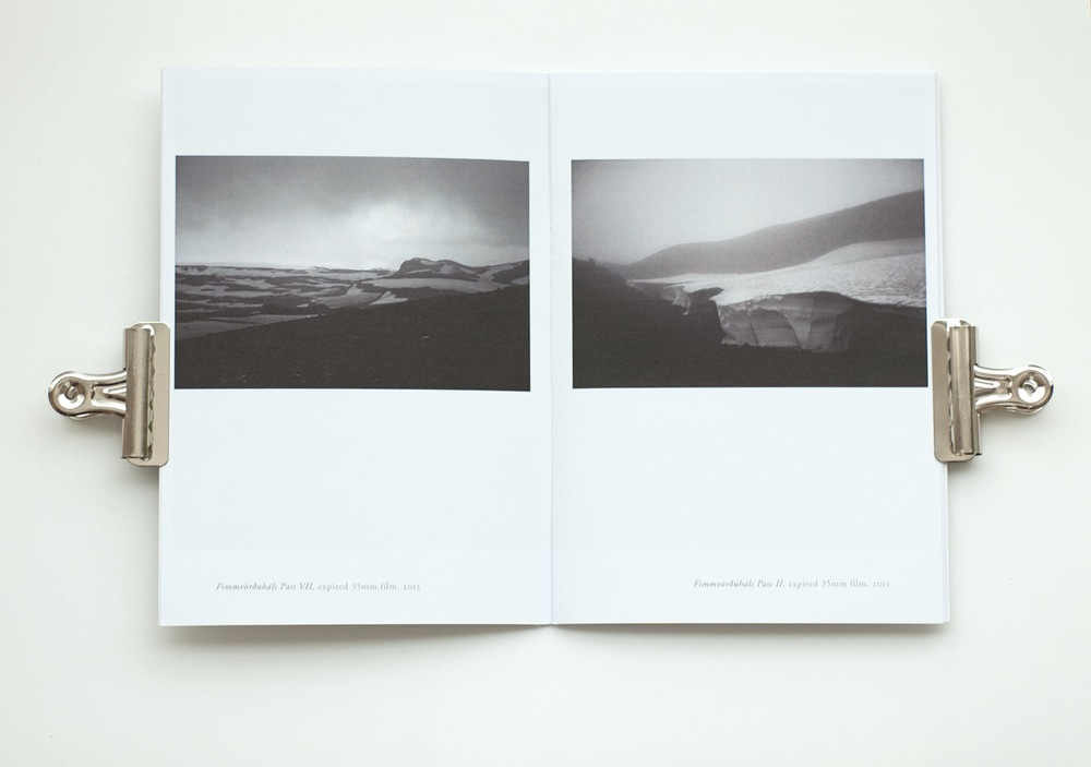 Analogue Colour Landscapes artist photo book by Tiinateaspoon