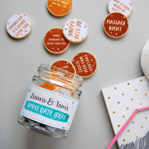 Date ideas jar