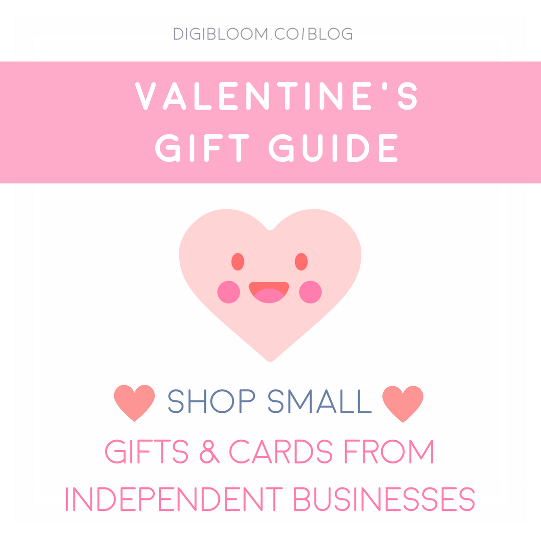 Valentine's Gift Guide from small businesses and Etsy sellers