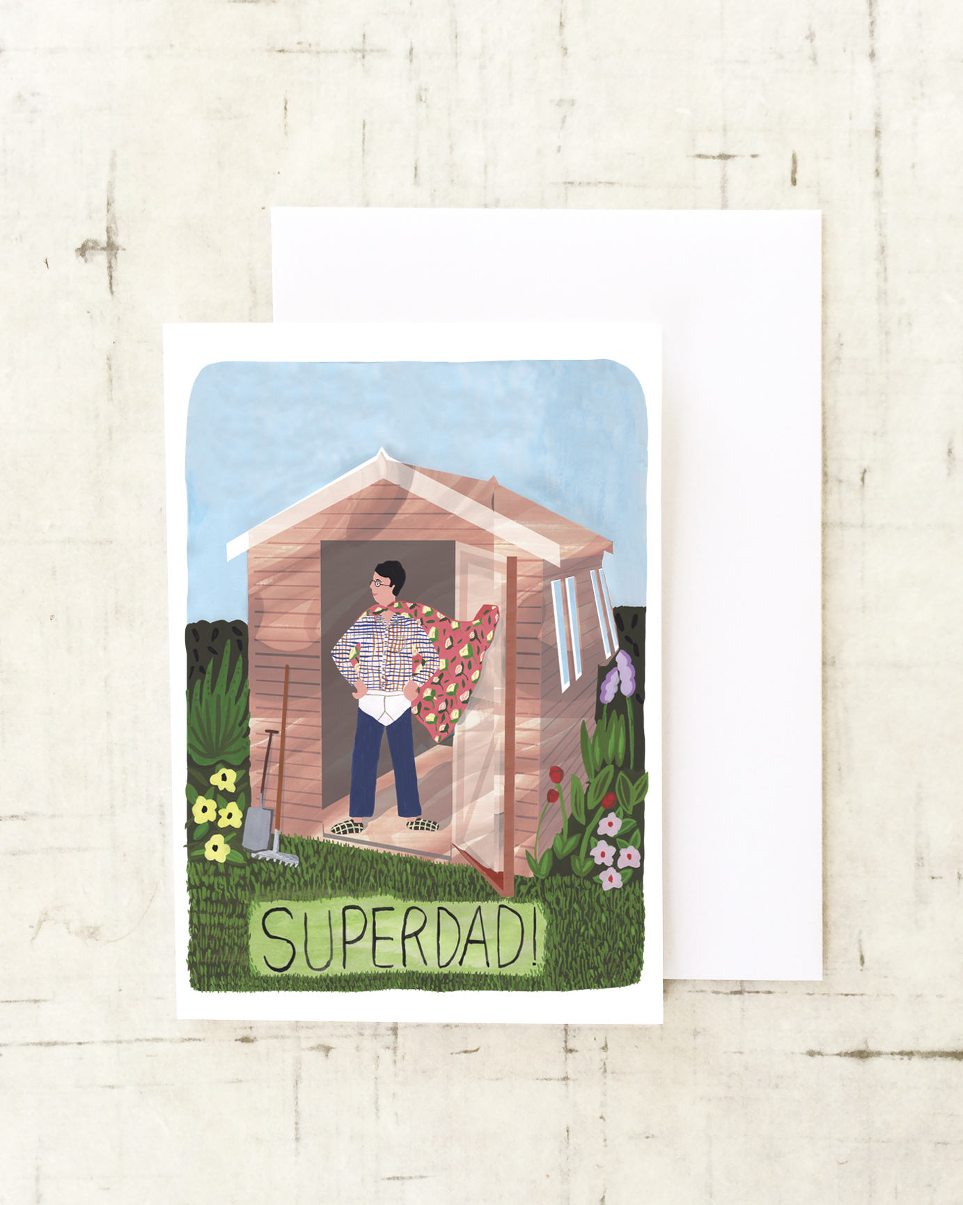 Superdad card