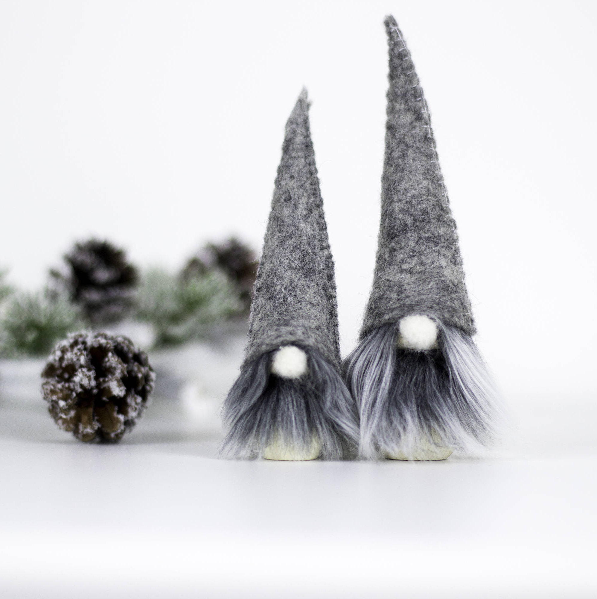 Nordic Christmas tree gnome decorations  by Littleromadecor