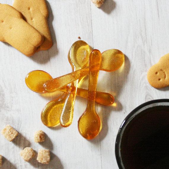 Gingerbread sugar spoons