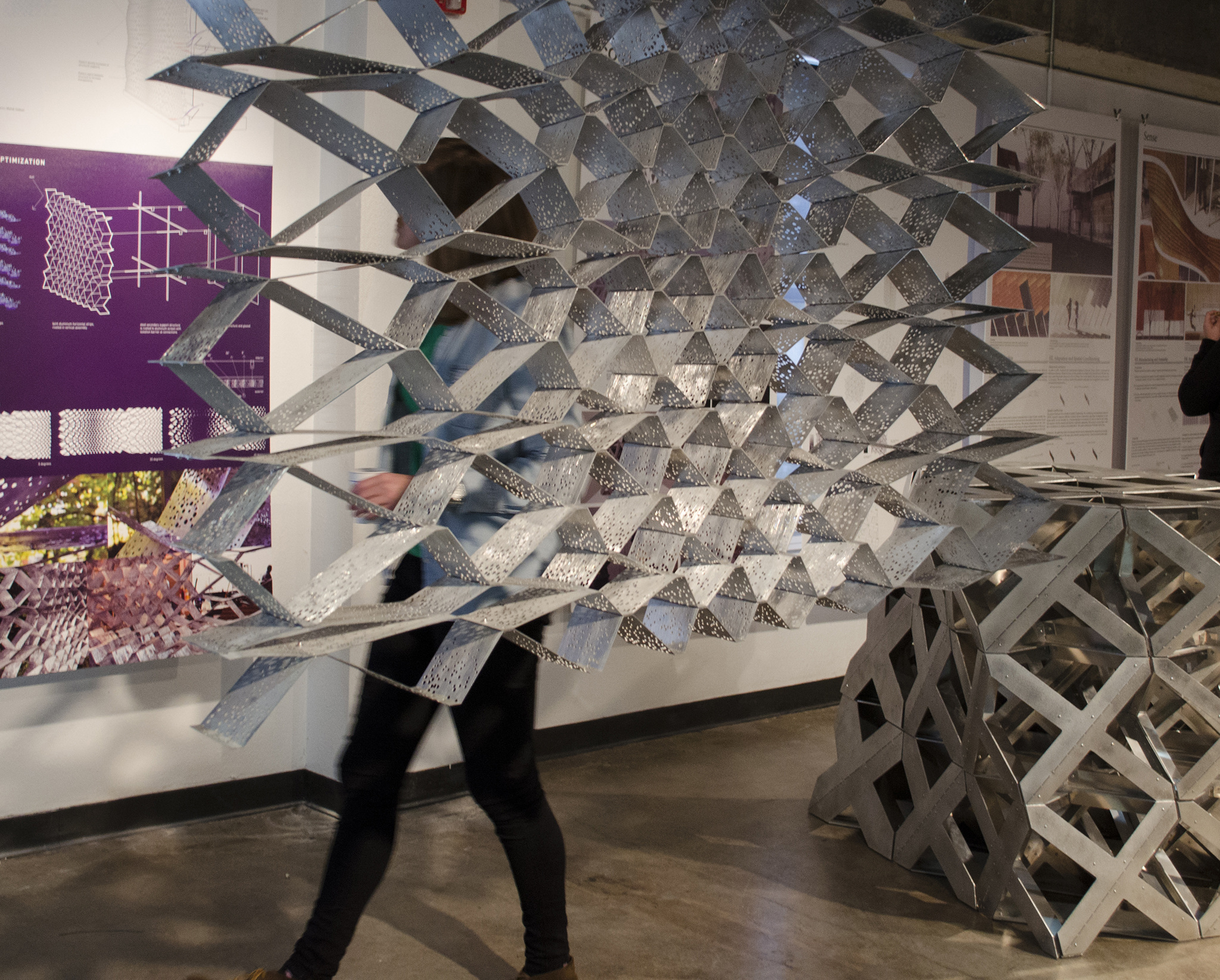 Ripple Architecture Studio project,   Evaporative Skin  , featured in the TEX-FAB SKIN Digital Assemblies Exhibition.