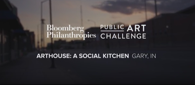ArtHouse: A Social Kitchen   In this video, Gary, Indiana Mayor Karen Freeman-Wilson discusses the economic, political and social challenges that have affected the city and introduces a culinary and visual arts center conceived by artist Theaster Gates with an innovative approach to addressing the complex challenges facing Gary.