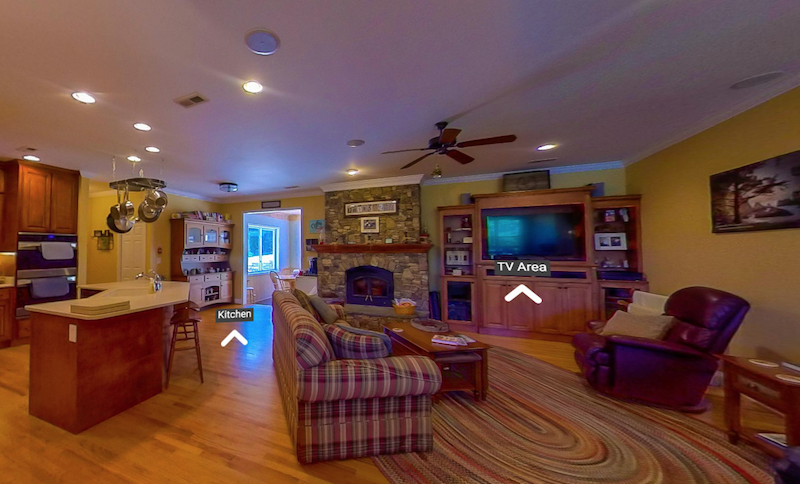 Take a virtual tour! Enjoy a 360 view of our bed & breakfast. -