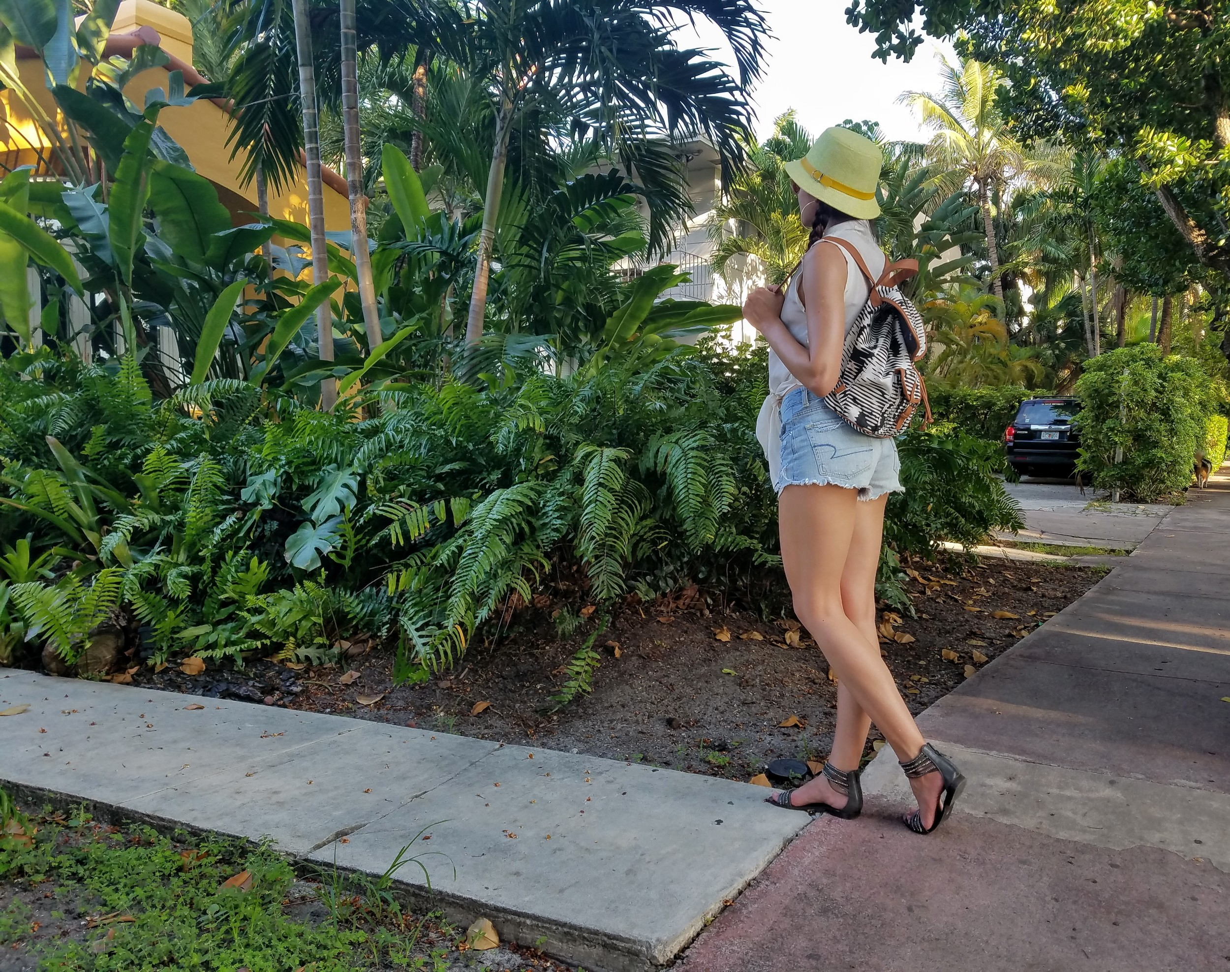 miami vacation palm trees LifeOfArdor fashion style ootd