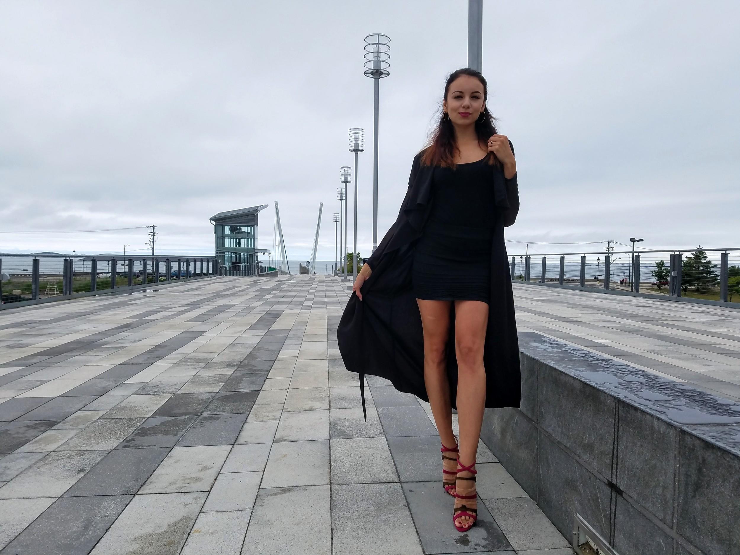 LifeOfArdor, all black outfit, zara heels, high heels, ootd, style, fashion, blogger, lifestyleblogger, fashionblogger