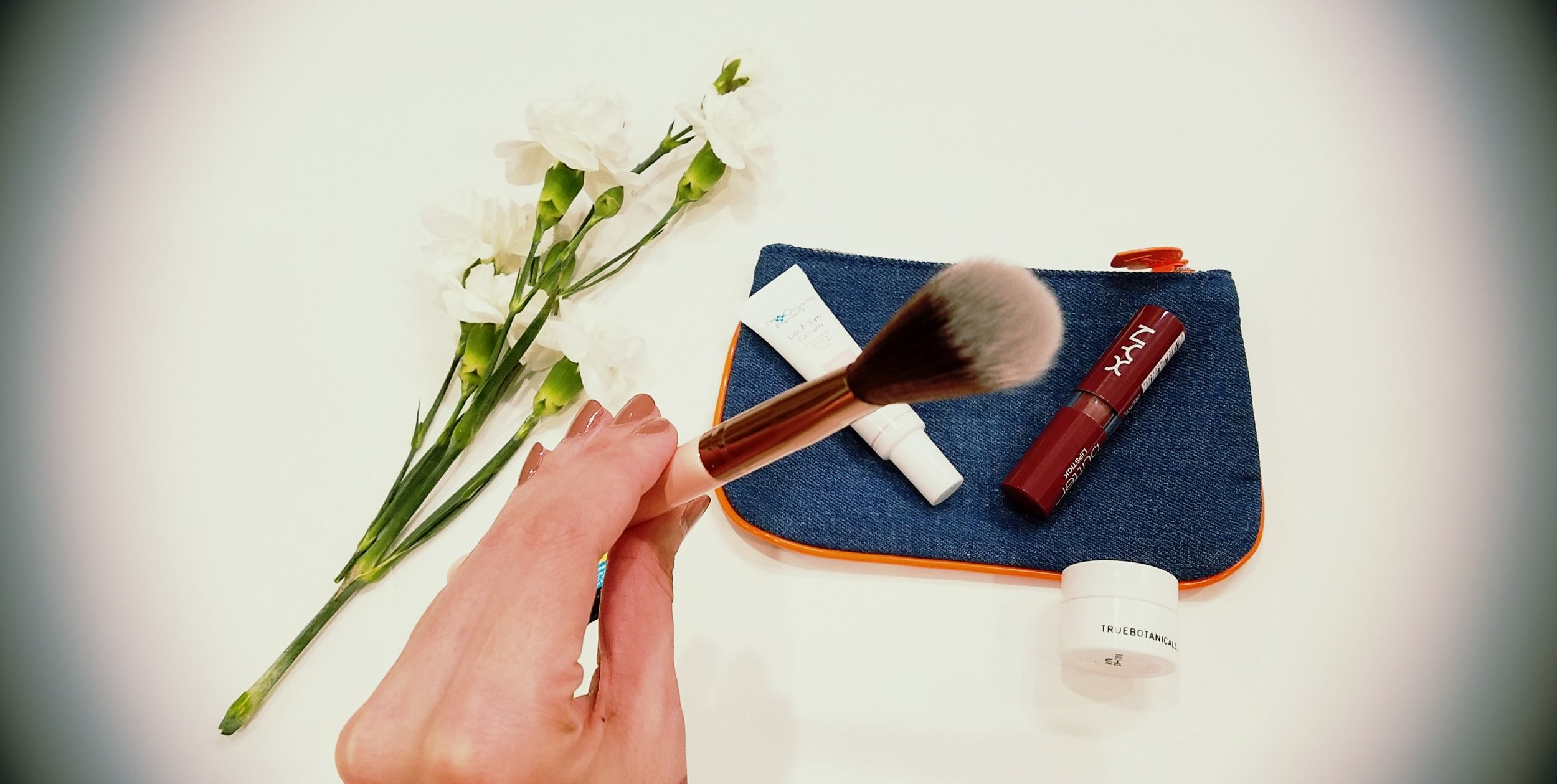 Luxie Beauty Luxie Rose Gold Blush Brush Ipsy Bag