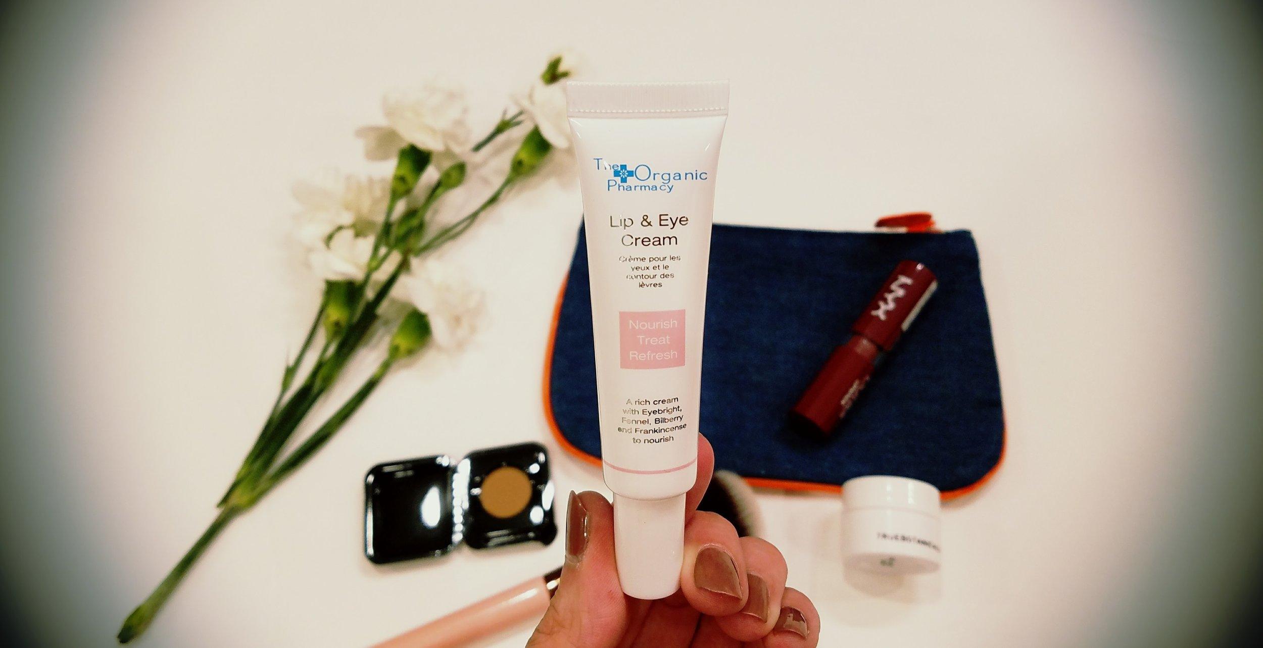 The Organic Pharmacy Lip & Eye Cream ipsy bag