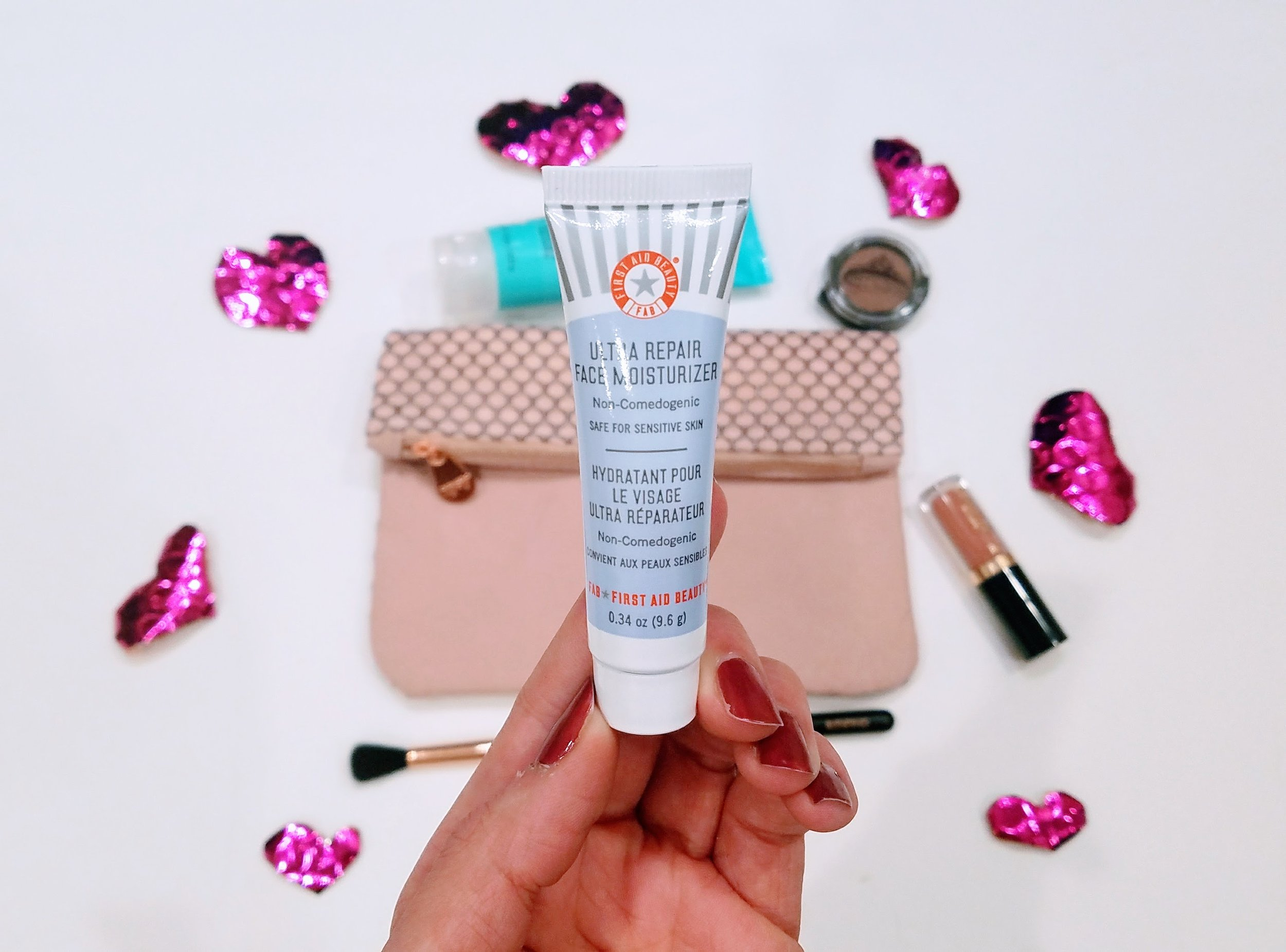 First Aide Beauty Face Moisturizer. Ipsy bag