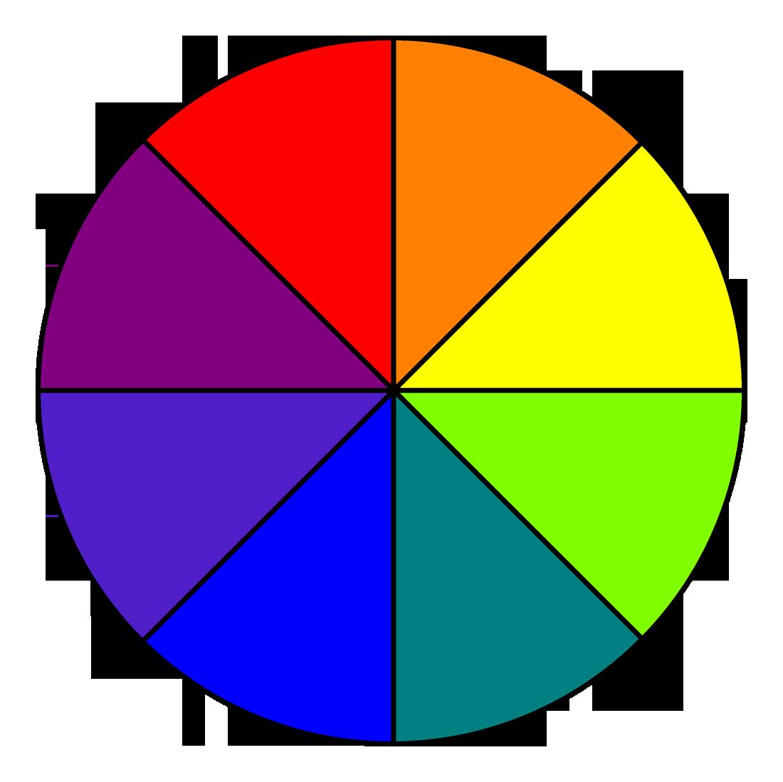 A photo of a colour correcting wheel.