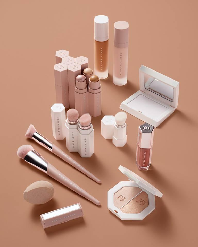 Fenty Beauty Makeup Collection by Rihanna.