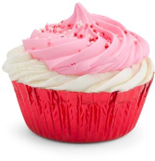 Cupcake bathbomb.