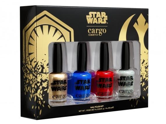 Star Wars Nail polish collection.