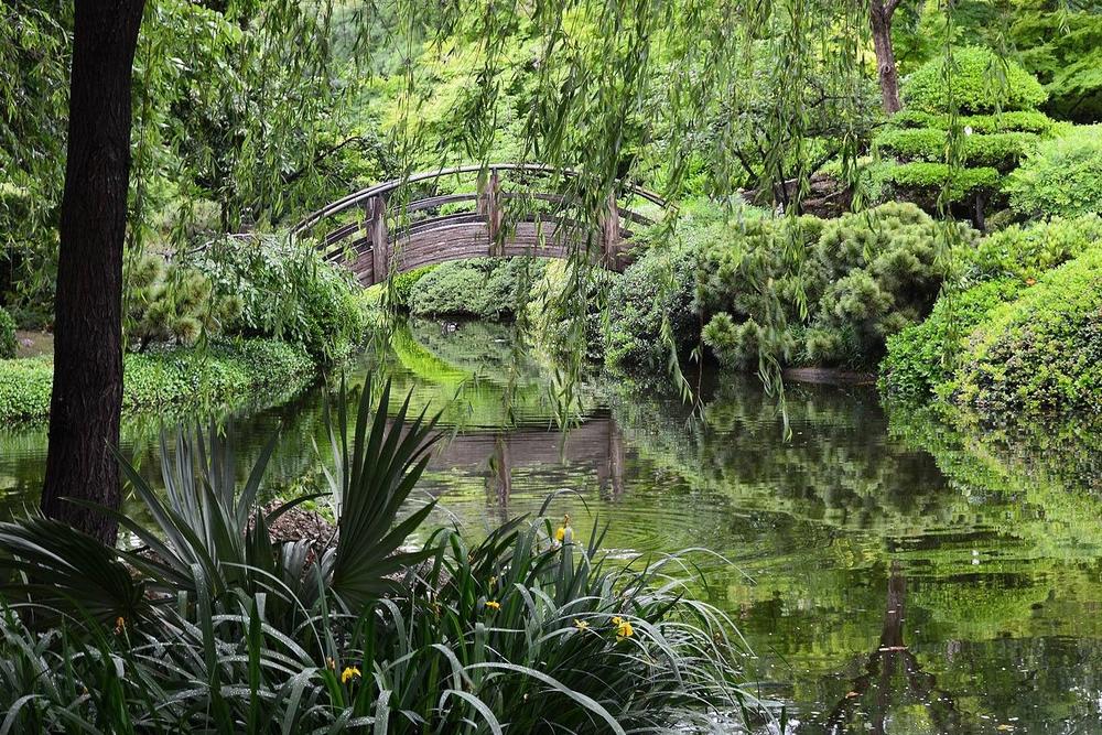 The Japanese Garden Fort Worth Botanic Garden