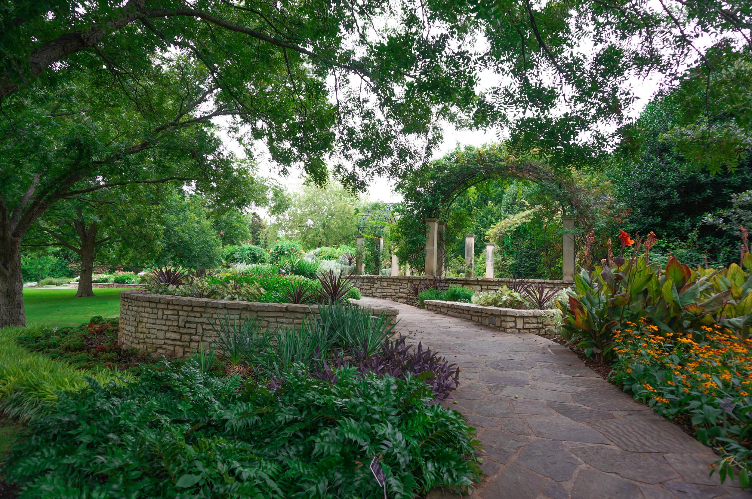 Fuller Garden Fort Worth Botanic Garden