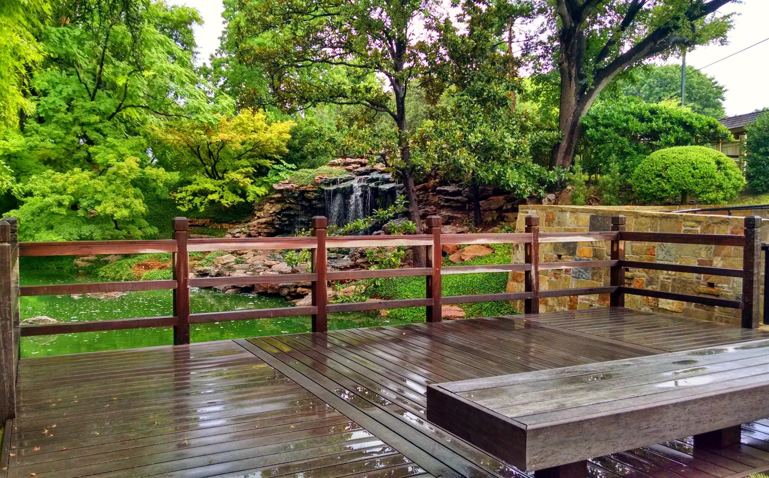 The Mikoshi Deck a small wedding ceremony venue.