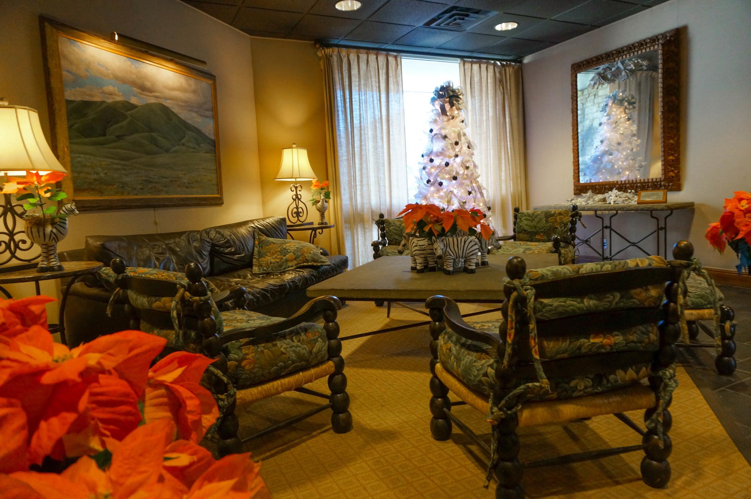 VIP Room in the Garden Center