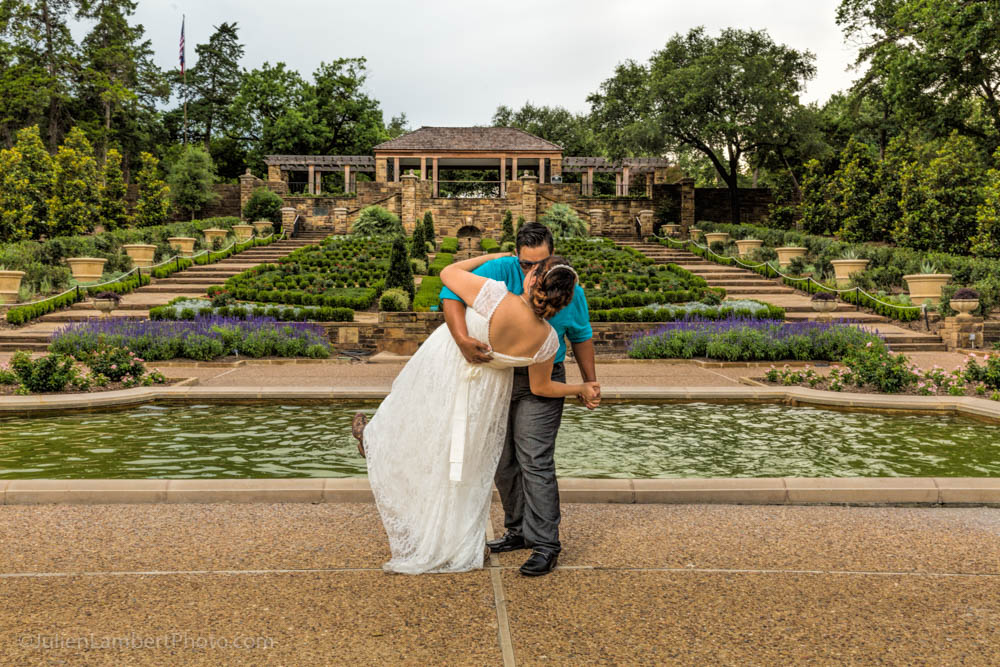 The Lower Rose Garden, photo by Julien and Lambert Photography