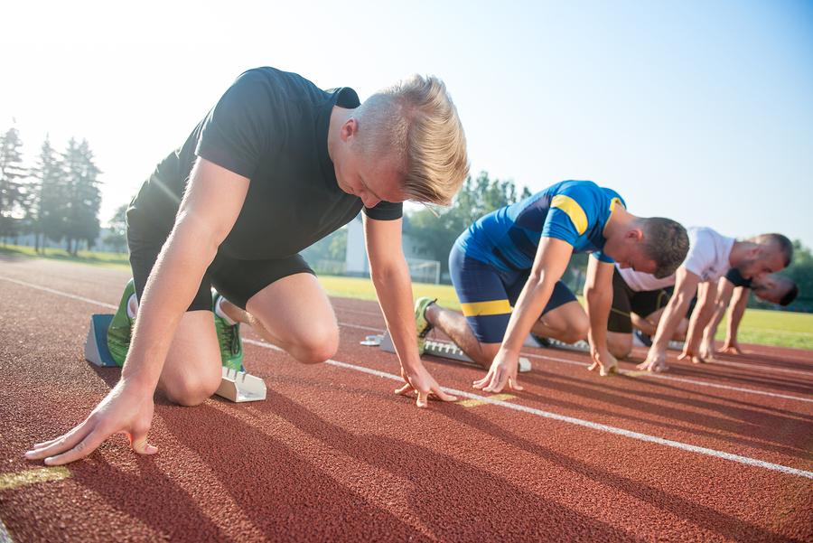 Track & Field Starting Blocks: Tips To Start Faster
