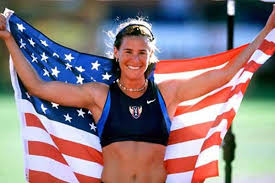 Stacy Dragila - Personal Record4.83m (15 feet 10.15 inches)AchievementsWorld Record Holder (1999 - 2003)1x Gold Medalist (2000 Olympic Games)2x Gold Medalist (1999, 2001 World Championships)1x Gold Medalist (1997 Indoor World Championships)1x Silver Medalist (2004 Indoor World Championships)Stacy Dragila is the first woman to win an Olympic Gold Medal in the pole vault. She currently coaches in Idaho.