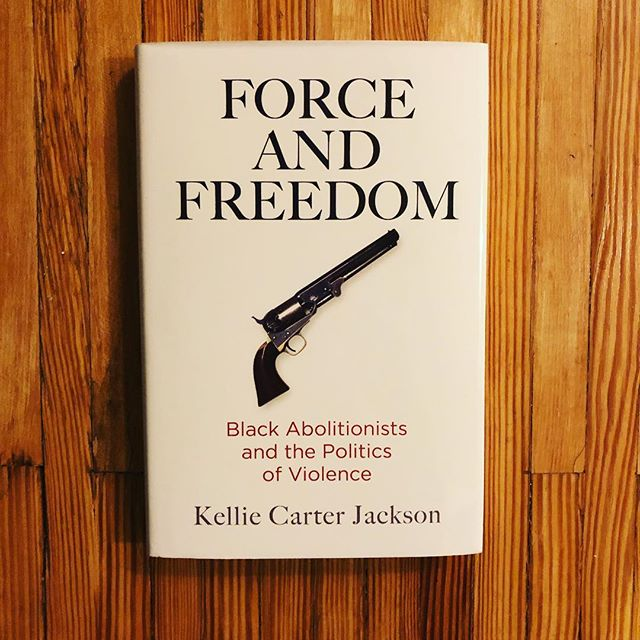 Came home to find this brand new masterpiece from historian Kellie Carter Jackson, whom I had the distinct pleasure of working with at The History Channel and now call a friend. Looking forward to what will certainly be a powerful read, closing a gap so often overlooked in our history textbooks: the story of black abolitionists. Oh and it's for sale on amazon, so you know, read it 😏. #history #reading #bookstagram