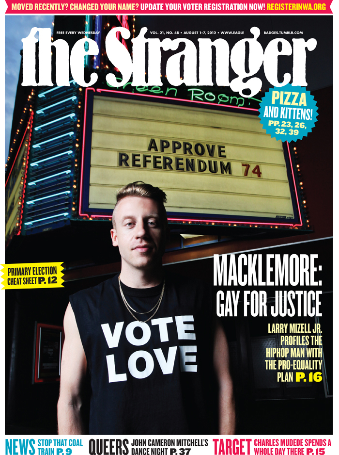 "Macklemore ""Vote Love"" Cover of  The Stranger"