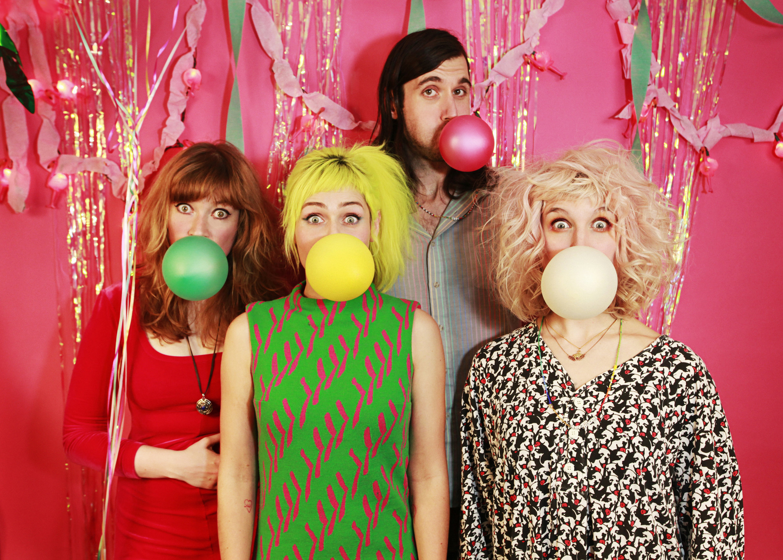 Tacocat Promo For Hardly Art Records / Sub Pop