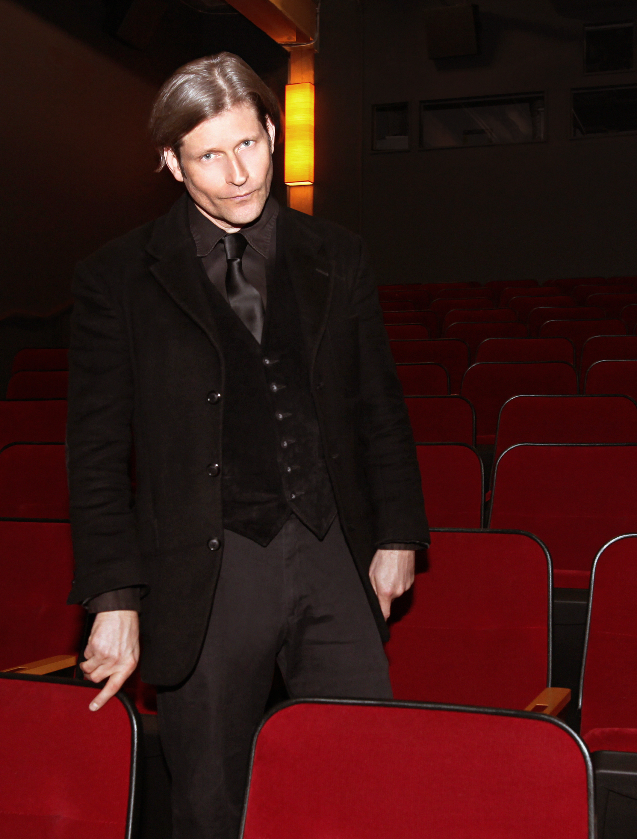 Actor Crispin Glover at Northwest Film Forum.  Read my interview with Glover here >>>