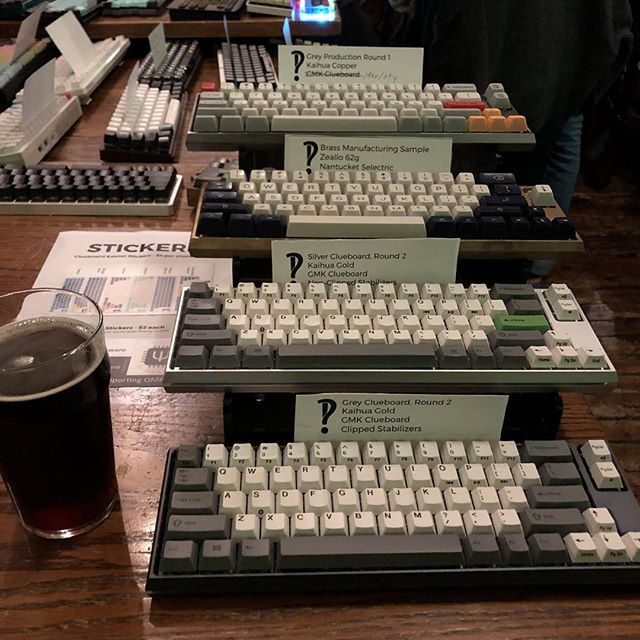 Keyboards and doppelbock at PDXKBC.