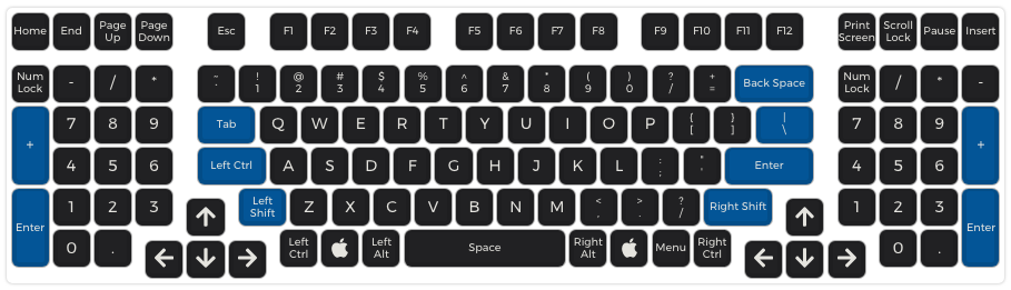 Clueboard QMK Configurator Defaults — Clueboard