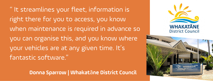 Argus Tracking telematics makes fleet management easy for Whakatane District Council