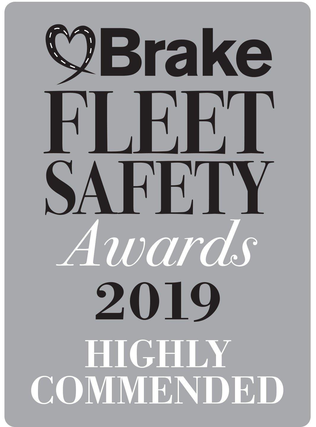 Argus Tracking Highly Commended at Brake Fleet Safety Awards 2019pg