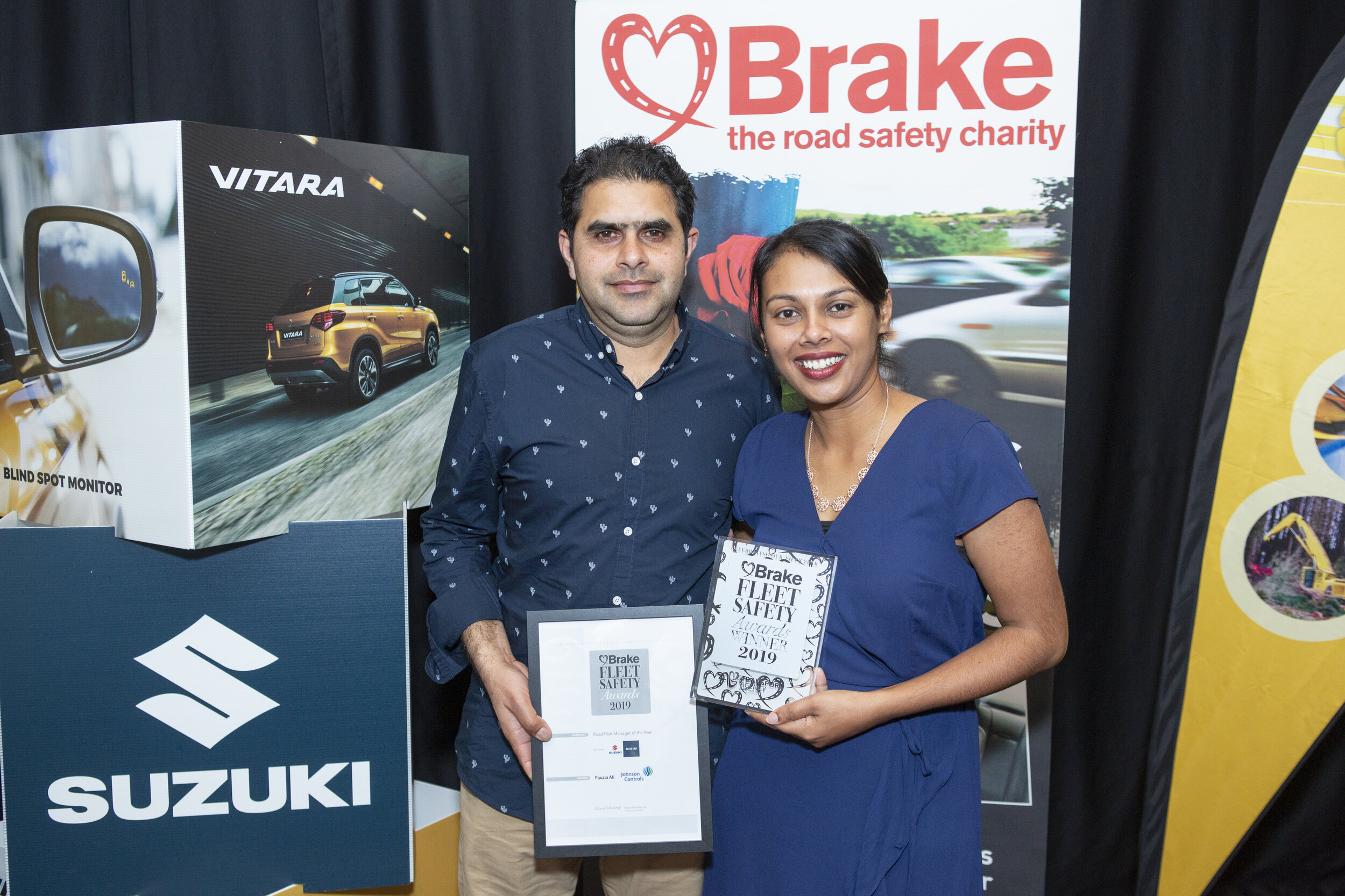 Fauzia Ali uses Argus Tracking to win Road Risk Manager of the Year Award