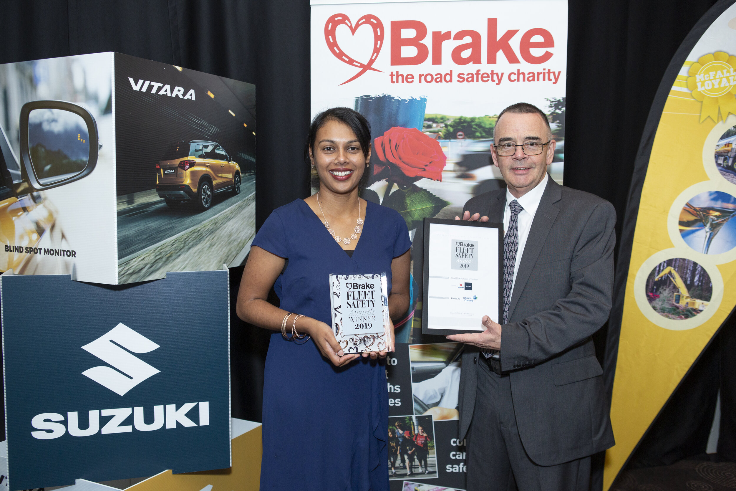 Fauzia Ali from Johnson Controls wins Road Risk Manager of the Year Award