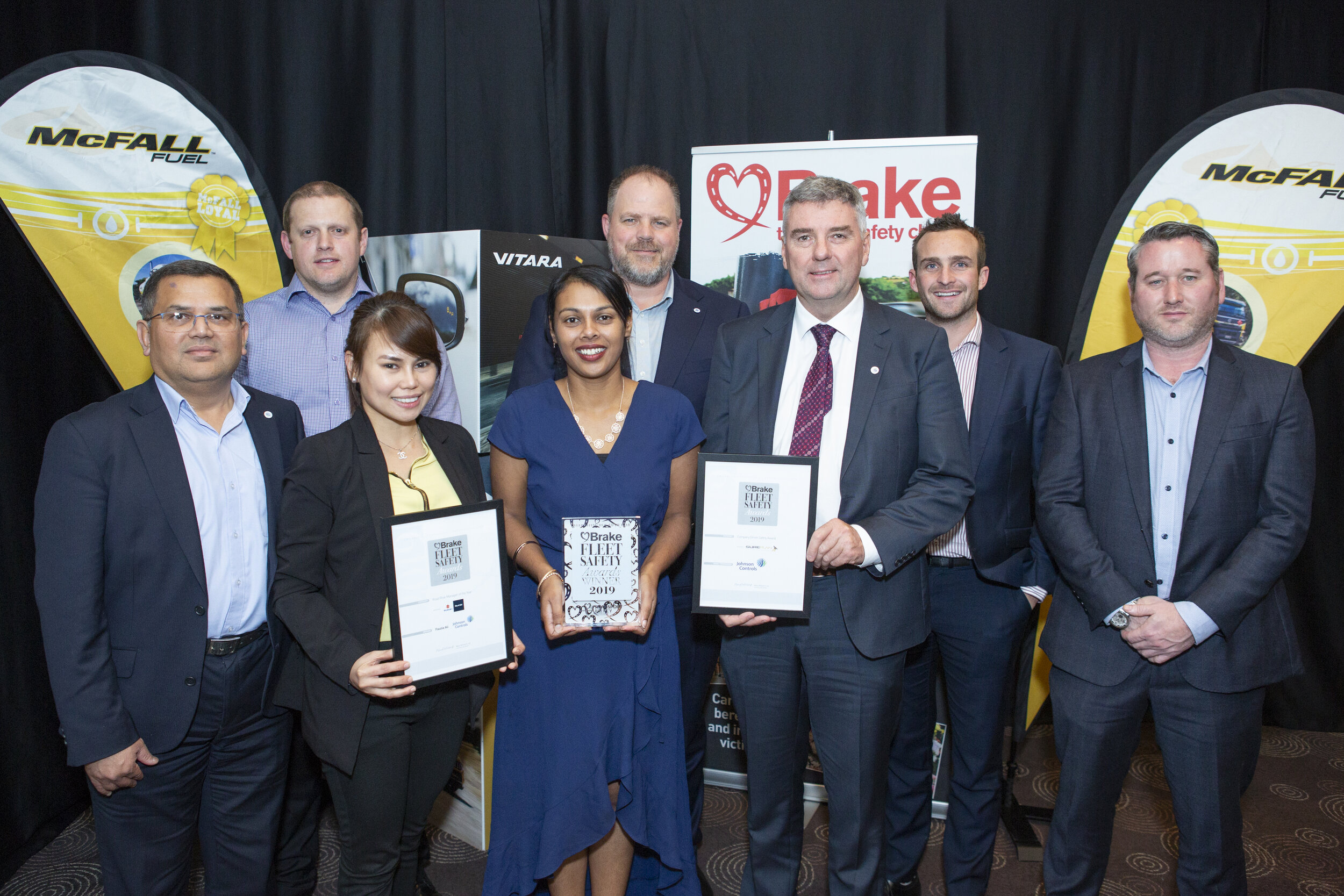 Johnson Controls receive highly commended for the Company Driver Safety Award