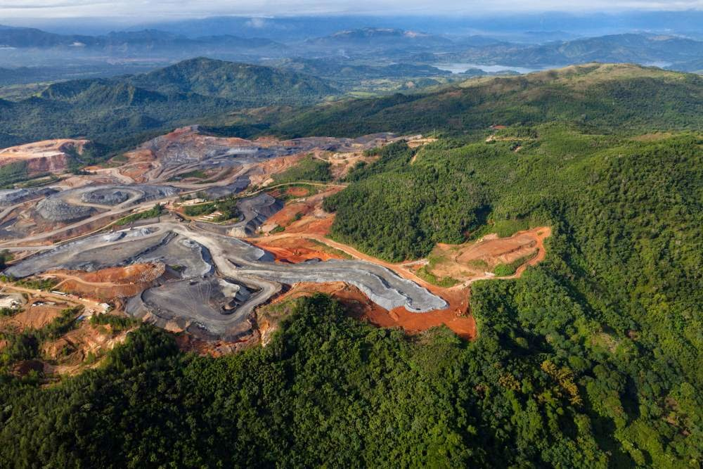The Pueblo Viejo gold mine in neighboring Dominican Republic is one of the ten largest in the world and is an example of open pit mining. It is part of the same Massif du Nord Metallogenic Belt as Haiti. (Photo credit: Pulitzer Center)