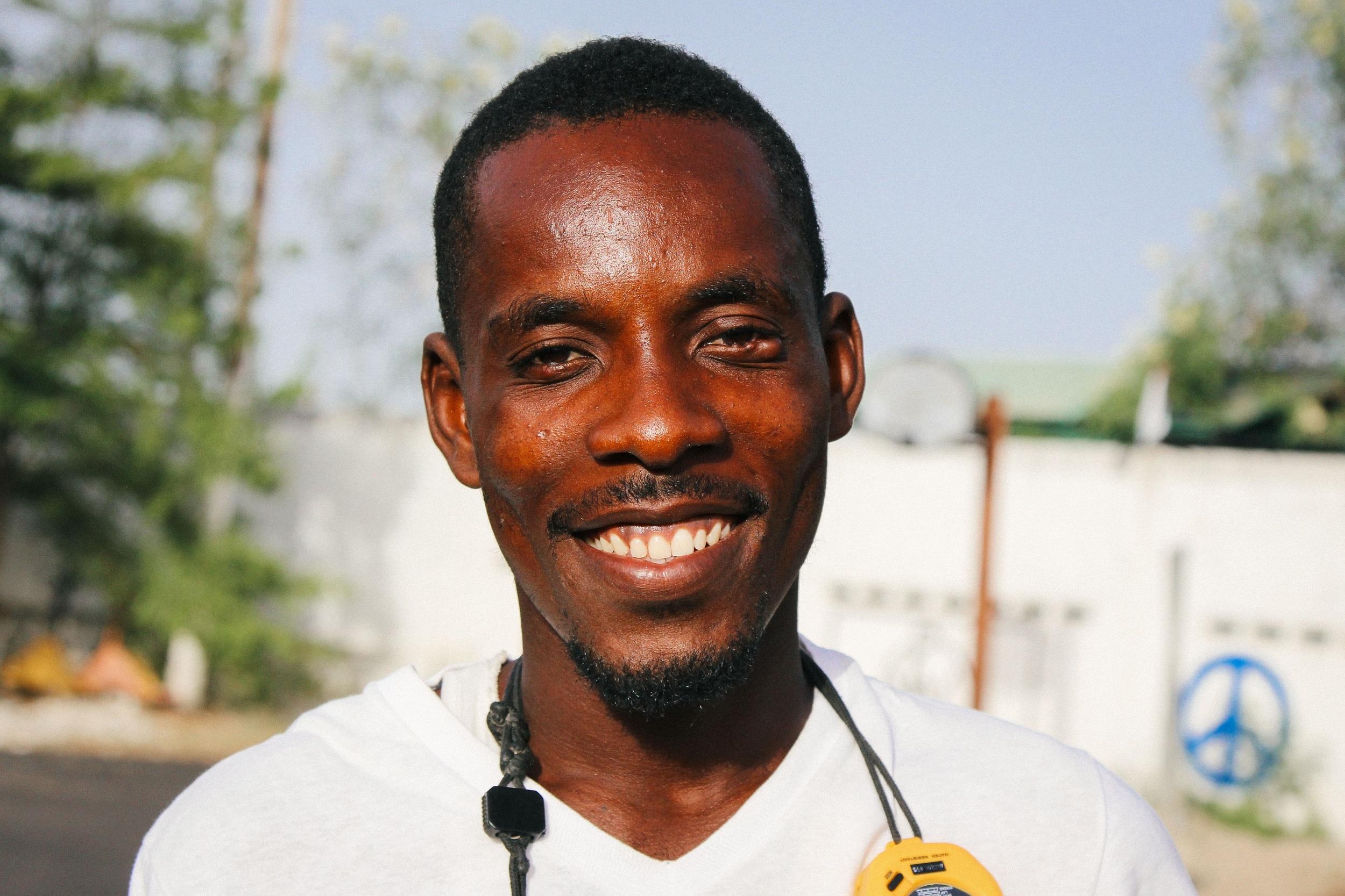 Coach Karls Jodler Fils-Aimé. MCC/Ted Oswald