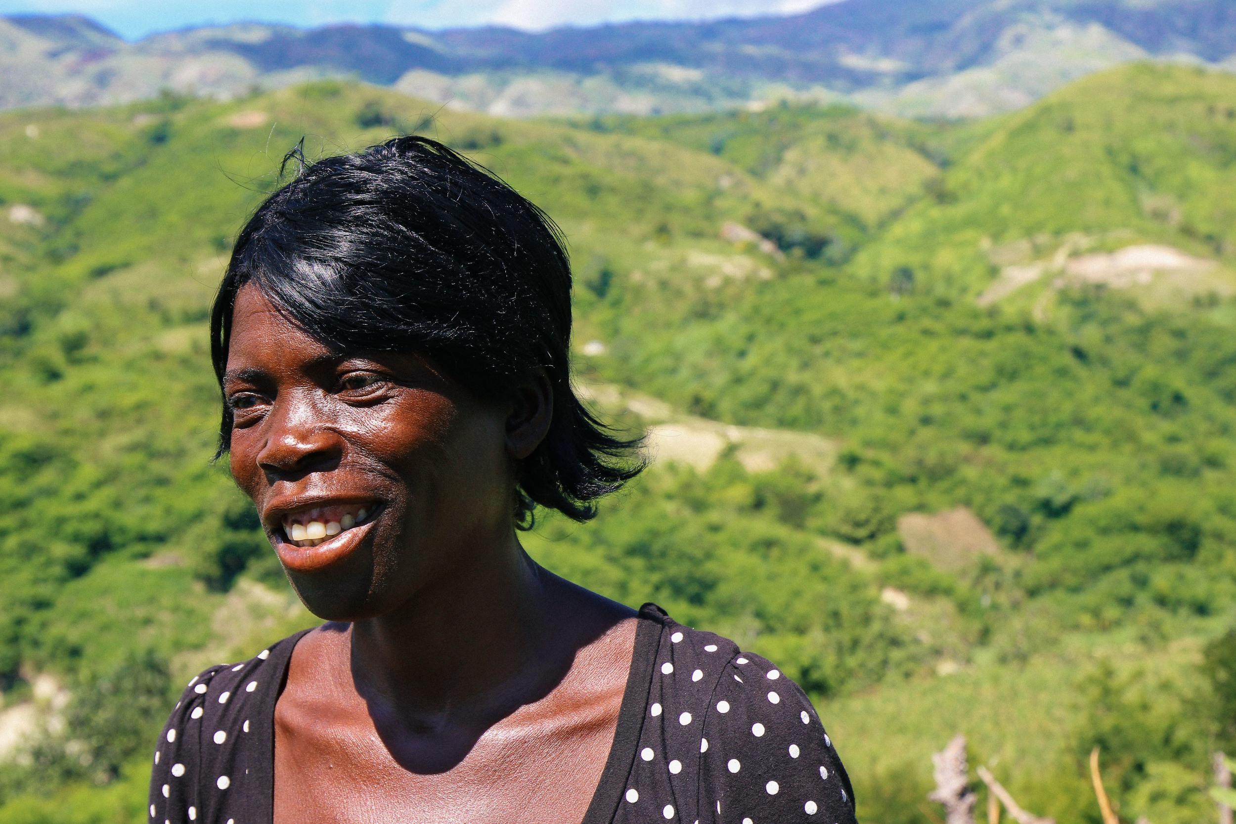 St. Abel Pierre is the treasurer for the peasant farming group Avansman Lavi Kabay.