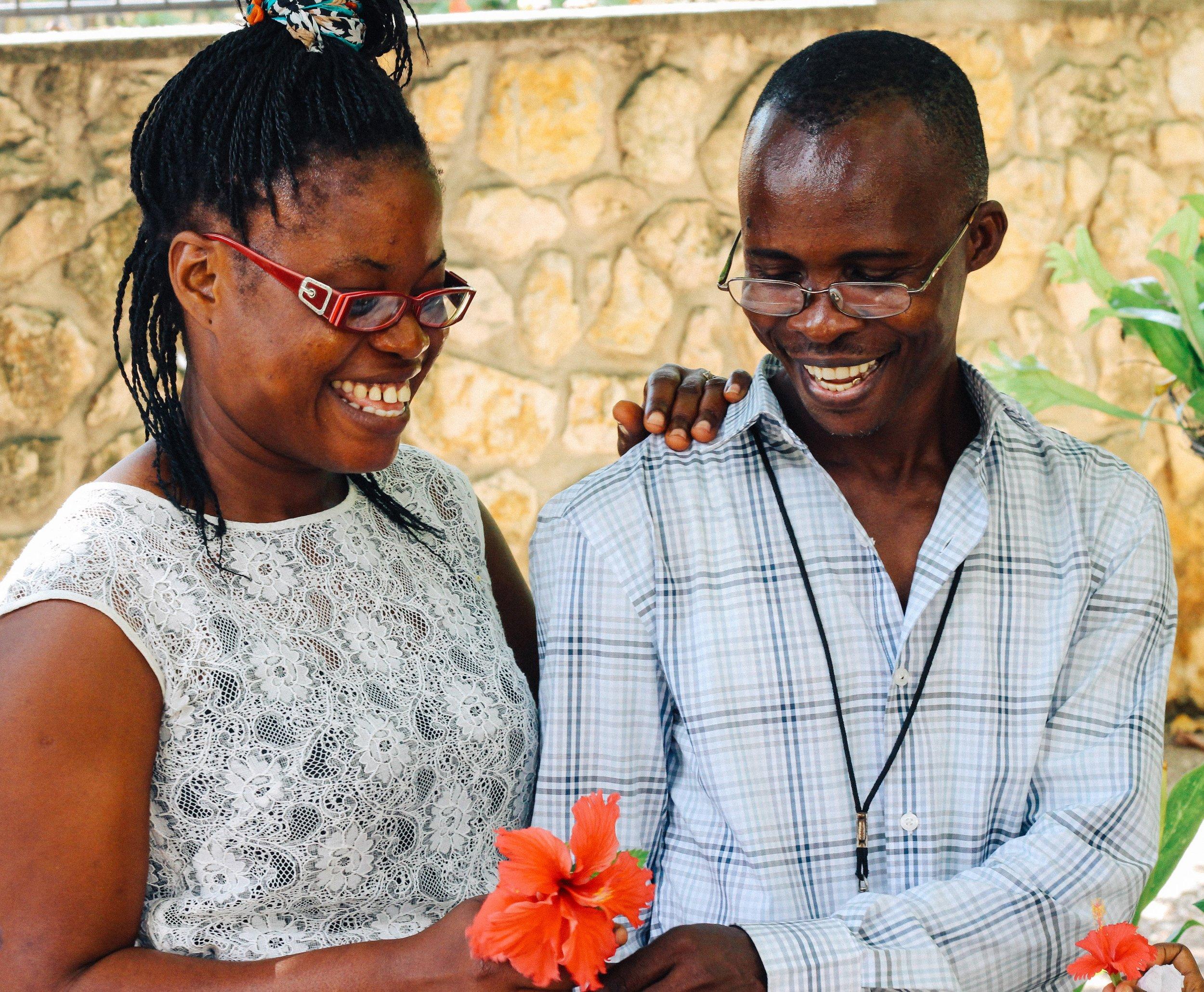 Joseph and his wife, Josette. MCC Photo/Ted Oswald