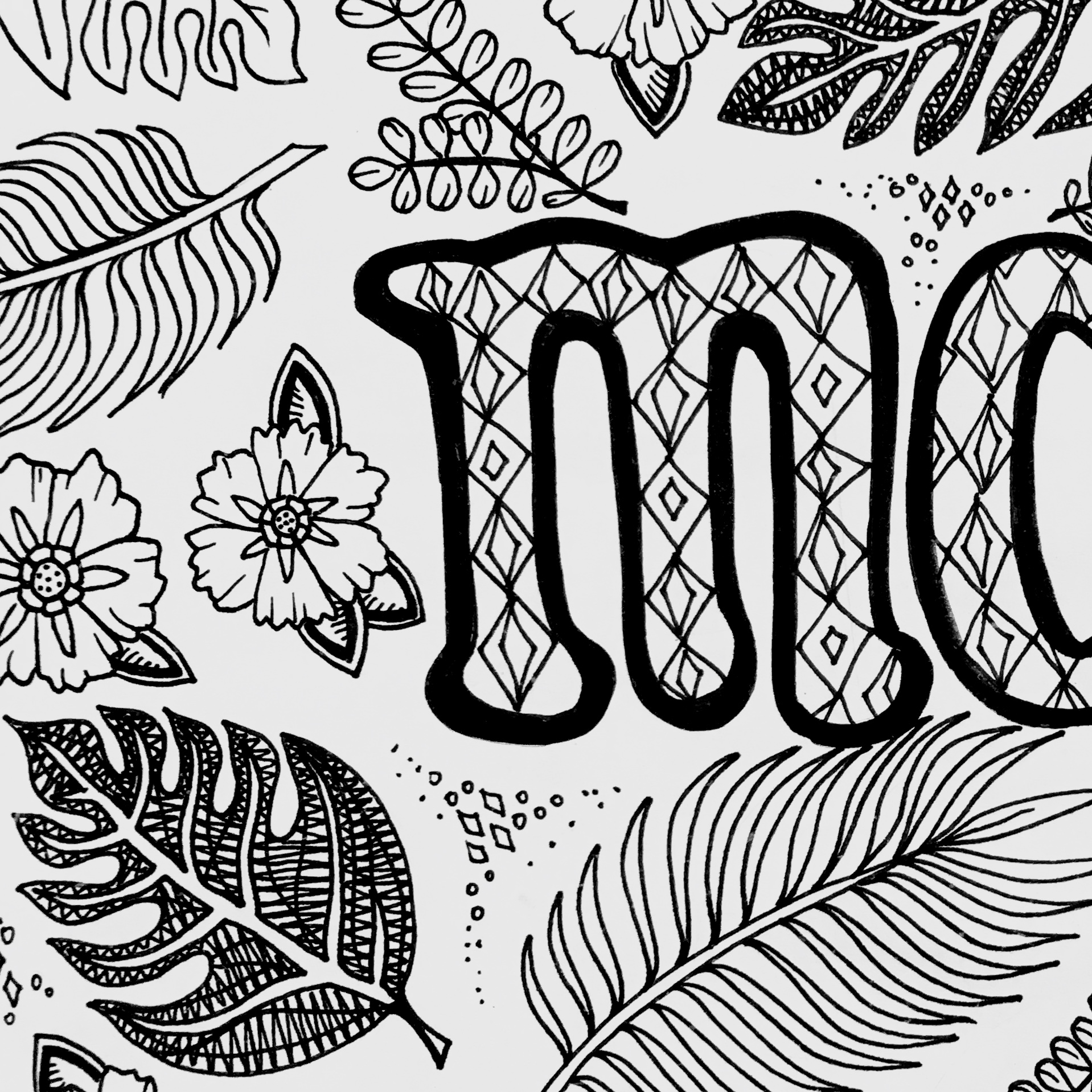 Madeline Coloring Page | H & M Coloring Pages | 1000x1000