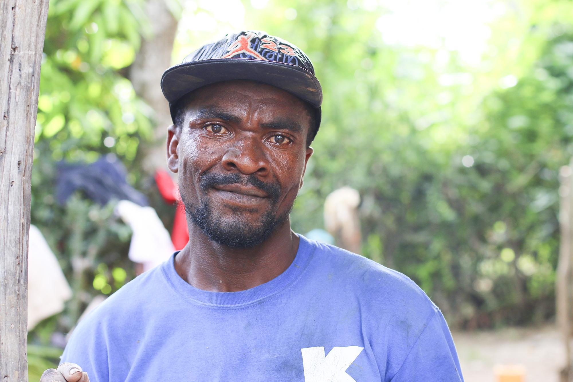 Jantonie Fontil. La Chapelle, Haiti. Photo/Annalee Giesbrecht