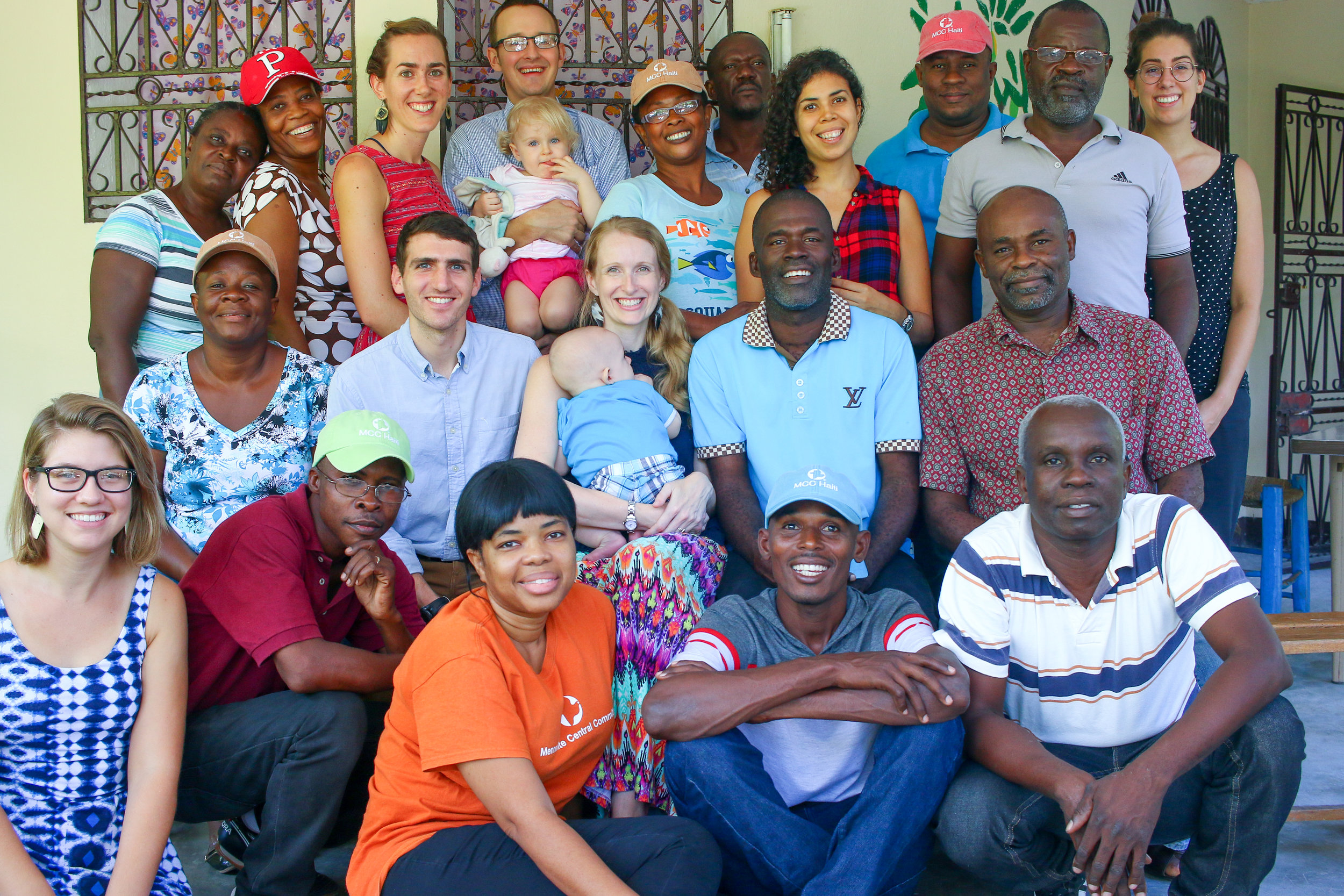 The MCC Port-au-Prince and Desarmes teams at our recent konbit (all-staff meetings) in November.