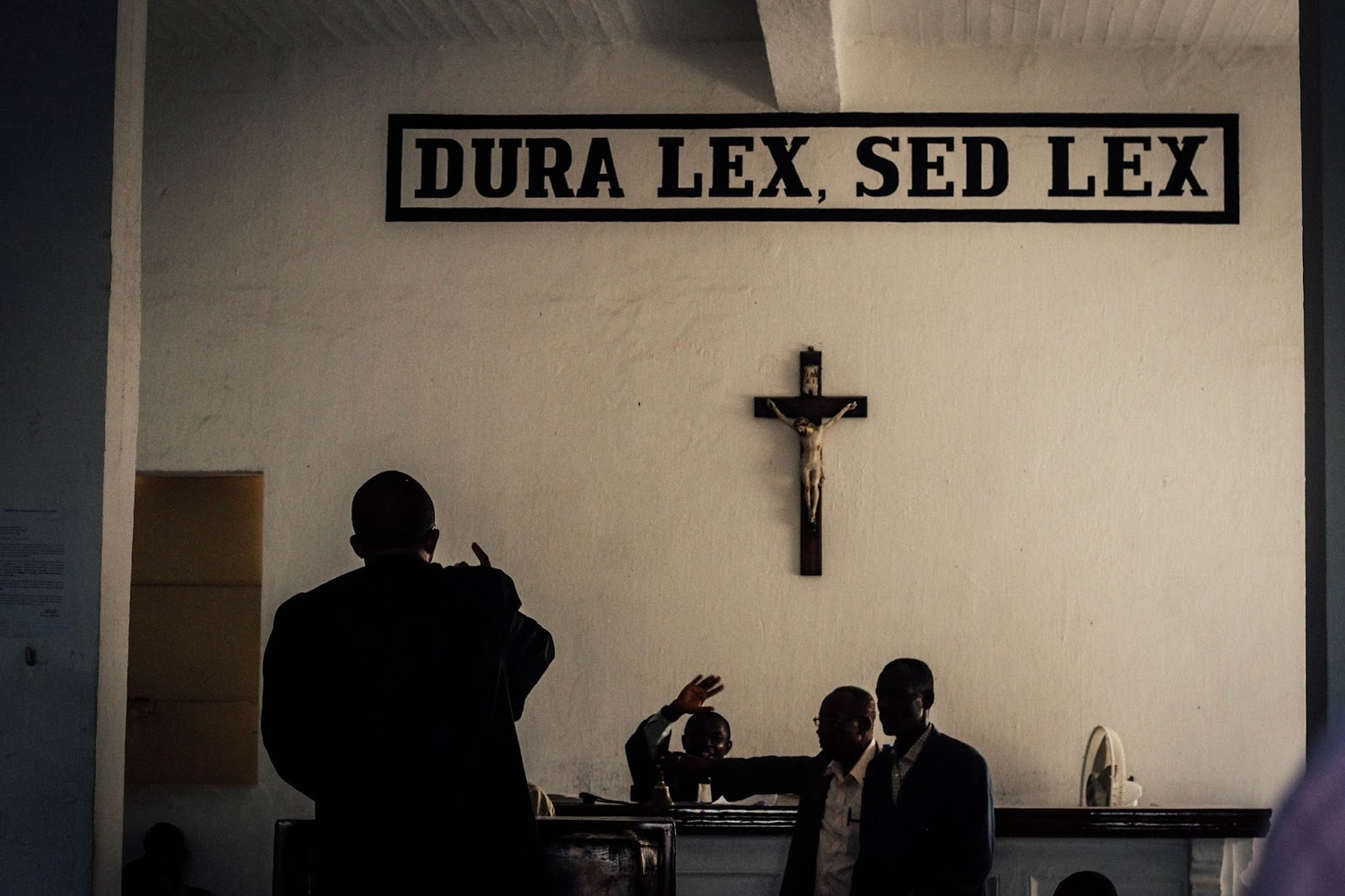 A courtroom in Cayes. MCC Photo/Ted Oswald