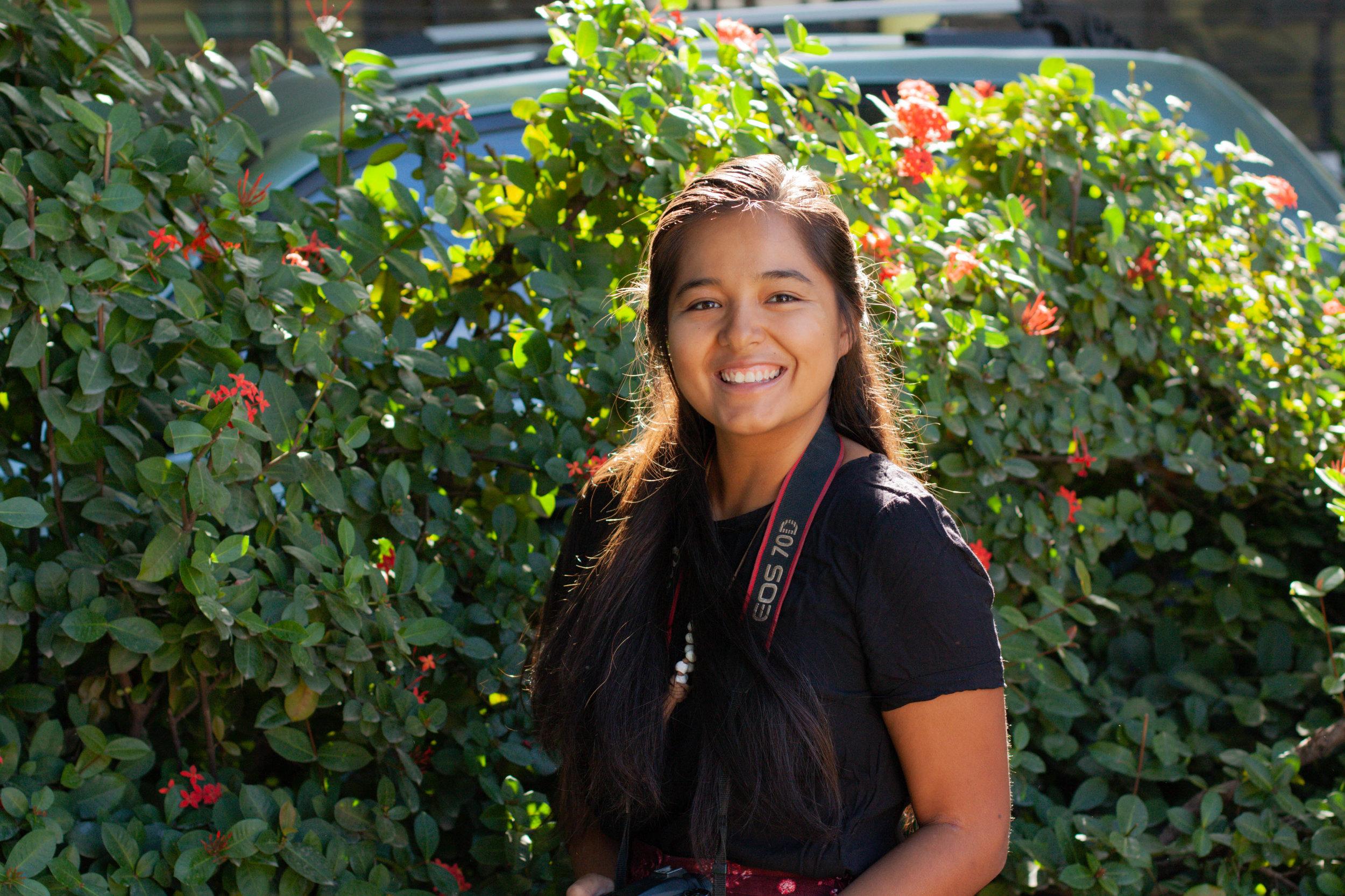 Elizabeth Peters, 22, Communications Assistant