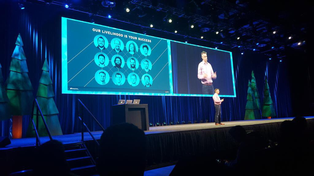 MARK MCLOUGHLIN,  OPENSTACK TECHNICAL DIRECTOR, RED HAT | OPENSTACK SUMMIT 2015    Photo source: @BobSummerwill