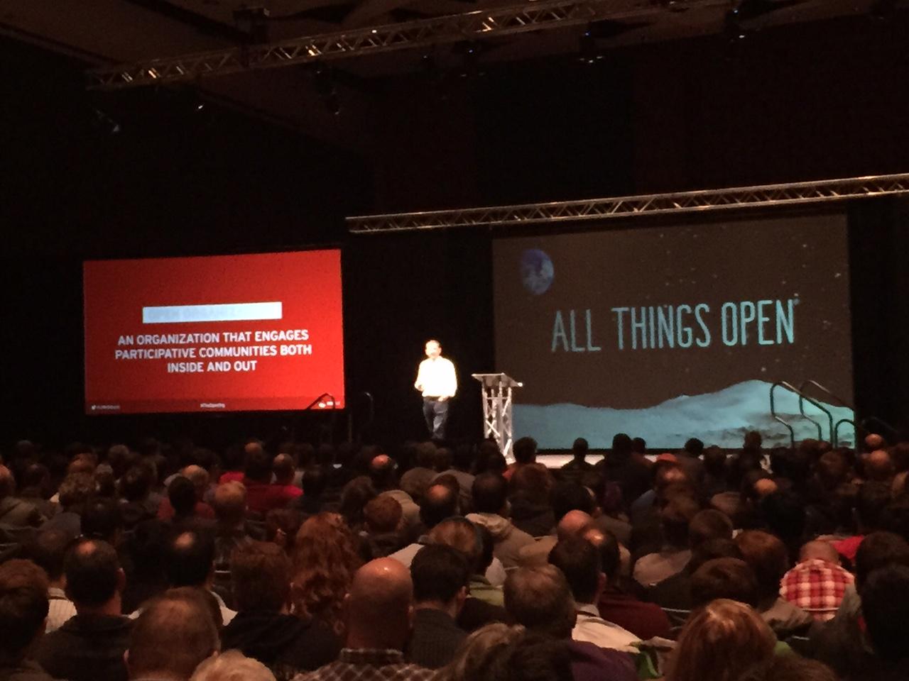 JIM WHITEHURST,  PRESIDENT & CEO, RED HAT ALL THINGS OPEN 2015
