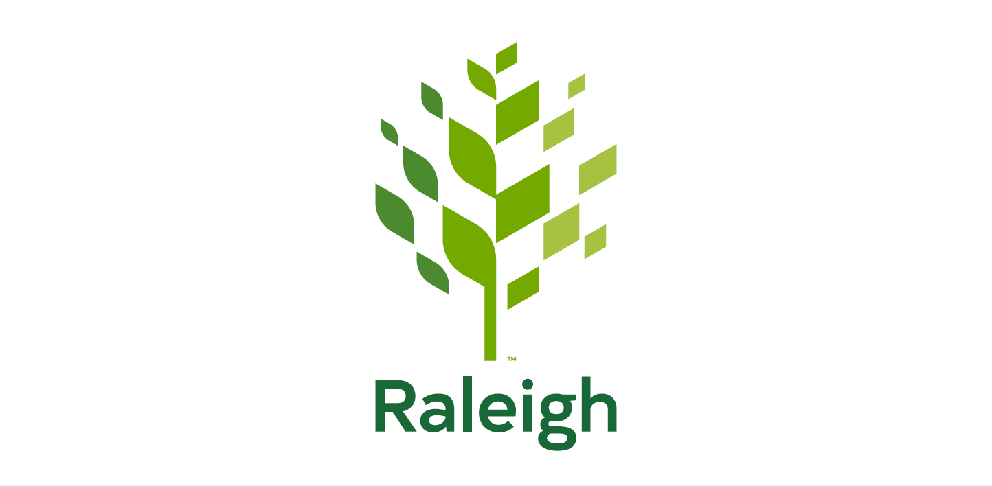 New logo designed, by The Assembly, for the City of Raleigh