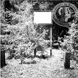 """A view of the sign at """"Sketoe's Hole"""" in Newton, Alabama"""